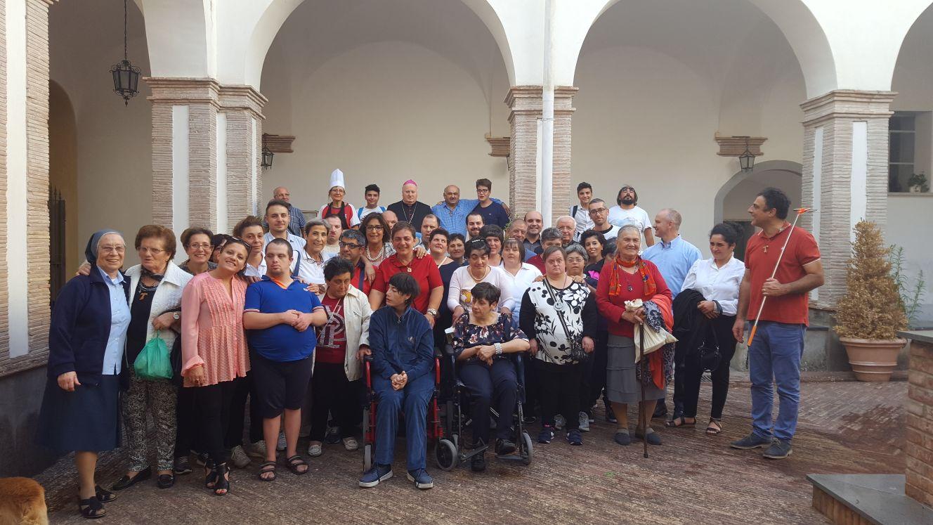 I ragazzi del Centro Girasole ai festeggiamenti in onore di San Francesco