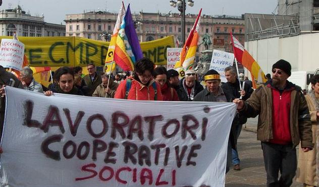 manifestazione cooperative sociali