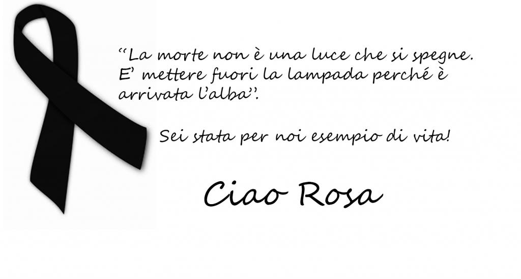 Ciao Rosa