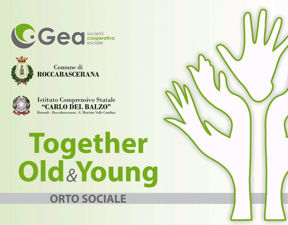 """Together Old & Young"" ."