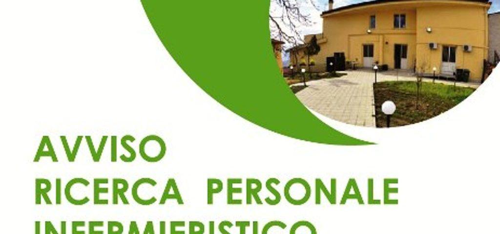 AVVISO RICERCA PERSONALE INFERMIERISTICO