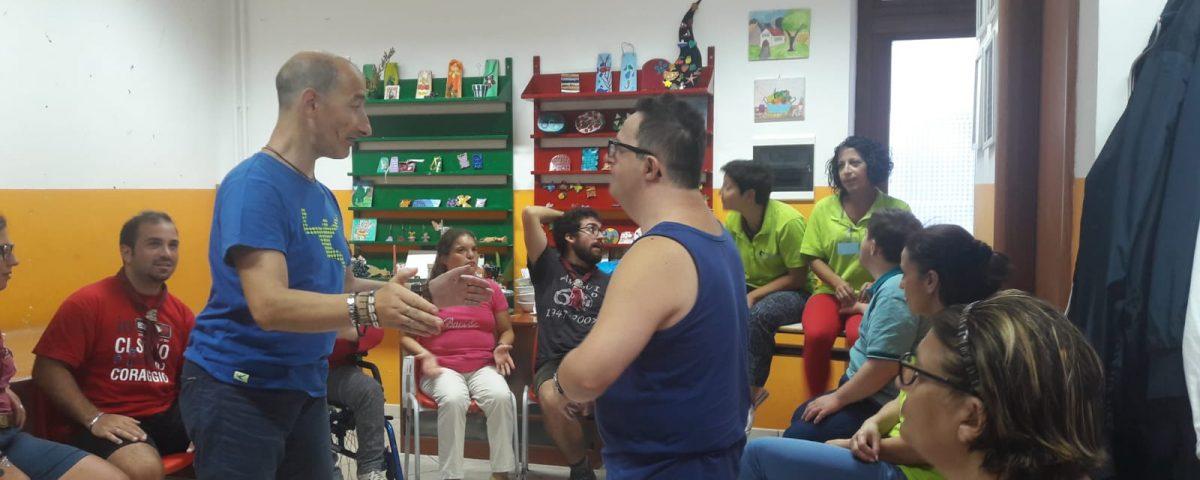 Gli scout presso il Centro Diurno per disabili ad Amalfi