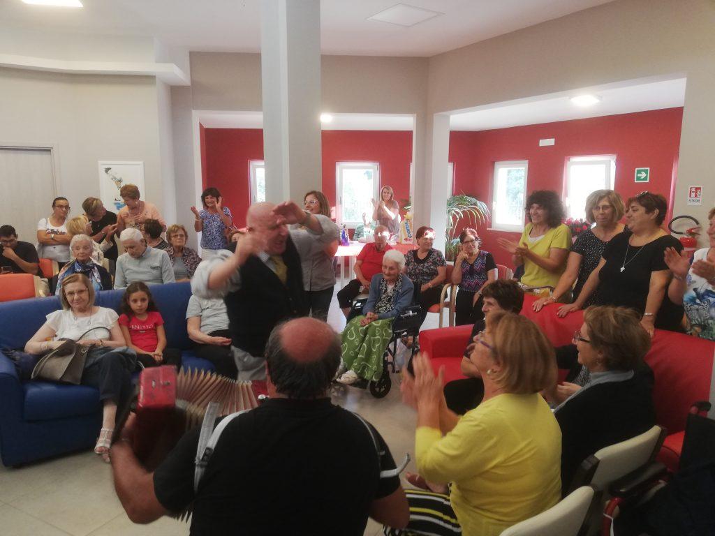 Festa dei nonni a Villa San Gallo