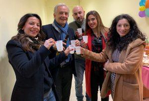 Inaugurazione del Centro per Bambini e Famiglie a Roccapiemonte.